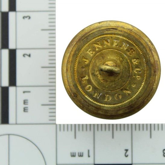 additional image for VICTORIAN 16th Regiment of Foot (Bedfordshire) 1855-1881 OFFICERS Tunic Button - 25mm