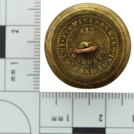 additional image for VICTORIAN 100th Regiment of Foot (PoW's Royal Canadian) 1855-1881 OFFICERS Tunic Button - 25mm
