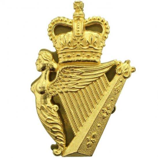 Ulster Defence Regiment UDR PIPERS CAUBEEN Glengarry Cap Badge - Queens Crown