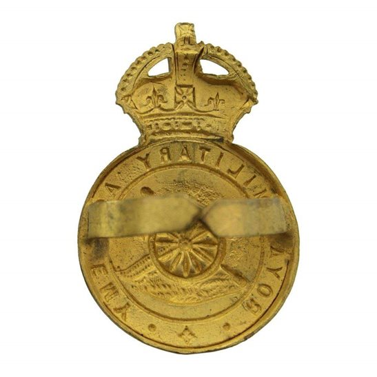 additional image for Royal Military Academy Sandhurst Officers Training Corps OTC Cap Badge