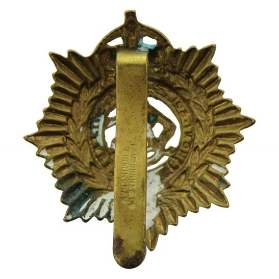 additional image for WW1 Army Service Corps ASC Cap Badge LAMBOURNE & CO