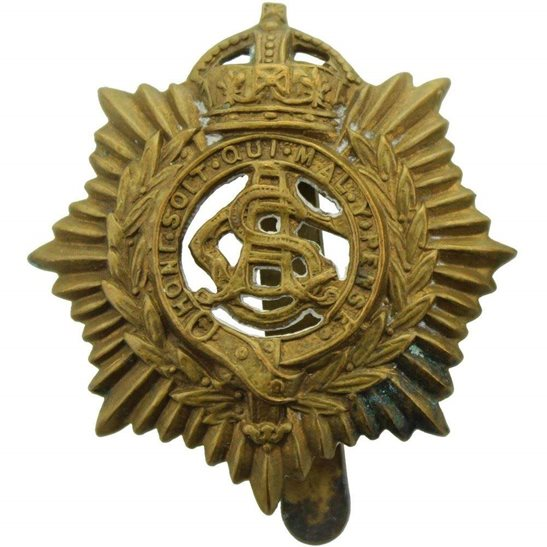 Army Service Corps ASC WW1 Army Service Corps ASC Cap Badge LAMBOURNE & CO