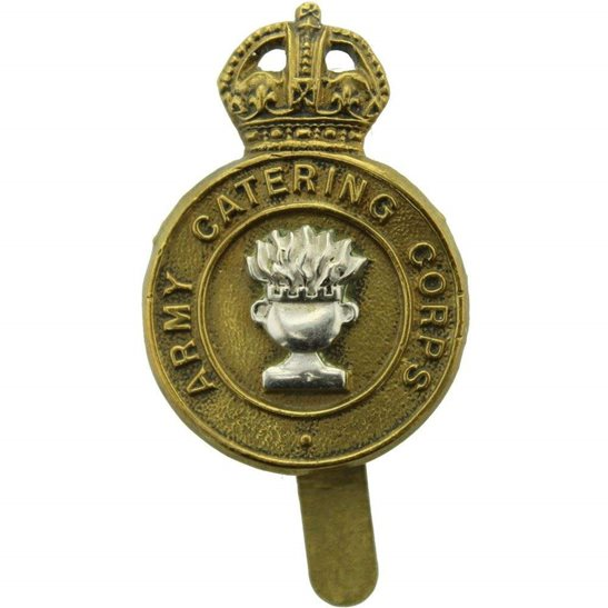 Army Catering Corps ACC WW2 Army Catering Corps ACC Cap Badge - BUTTONS LTD BIRMINGHAM