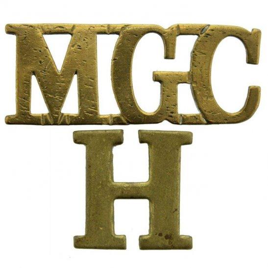 Machine Gun Corps MGC WW1 Machine Gun Corps MGC Heavy Branch Shoulder Title