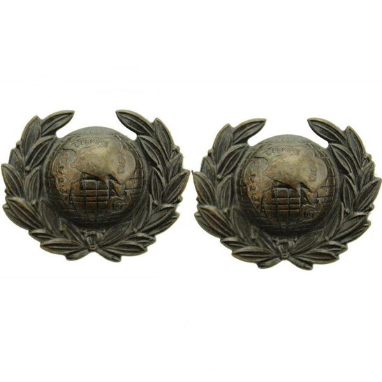 Royal Marines Royal Marines Corps Collar Badge PAIR