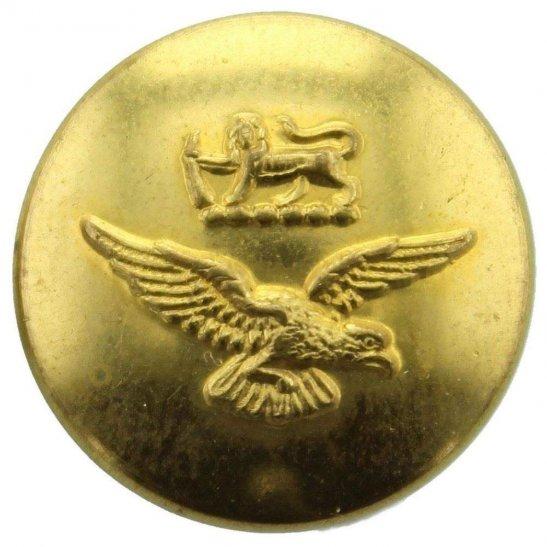 Rhodesian Army WW2 Royal Rhodesian Air Force (Rhodesia) SMALL Tunic Button - 27mm