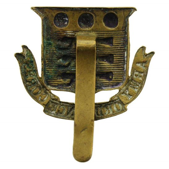 additional image for WW1 Army Ordnance Corps AOC Cap Badge