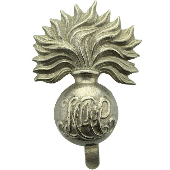 Honourable Artillery Company HAC WW1 Honourable Artillery Company HAC WHITE METAL Cap Badge