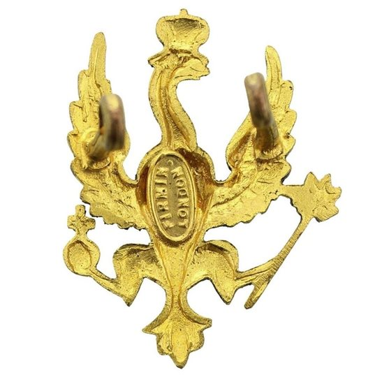 additional image for WW2 14th/20th Kings Hussars Regiment (King's) Cap Badge - FIRMIN LONDON