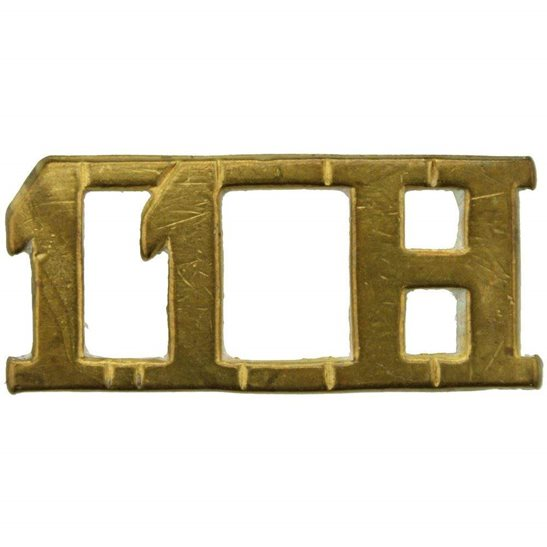 11th Hussars 11th Hussars Regiment Shoulder Title