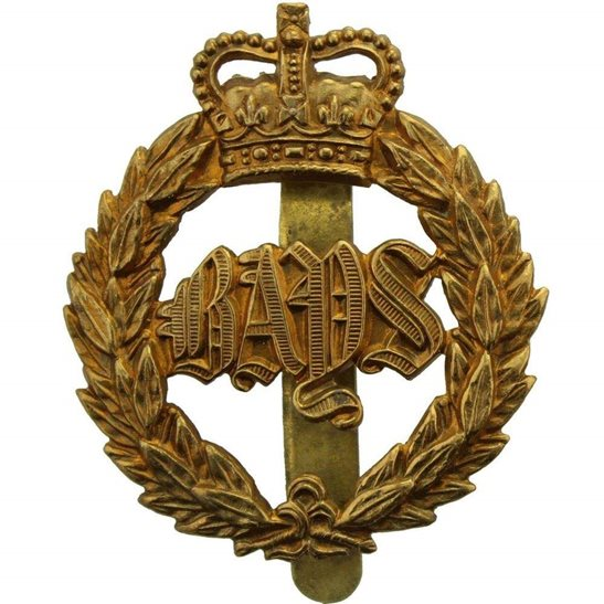 2nd Dragoon Guards 2nd Dragoon Guards (Queens Bays) Regiment Cap Badge - Queen's Crown
