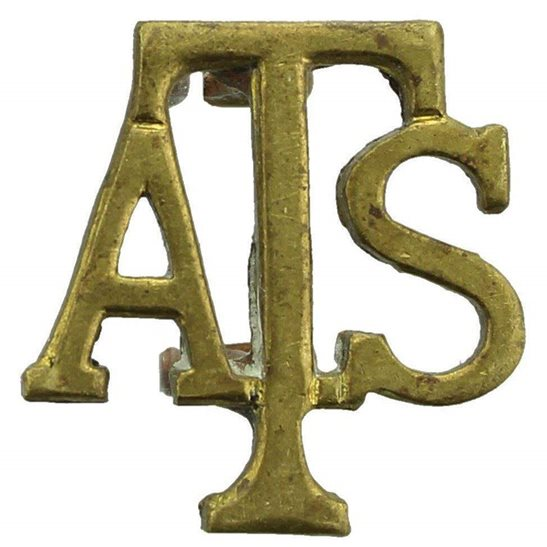 Auxiliary Territorial Service ATS WW2 Auxiliary Territorial Service ATS Shoulder Title