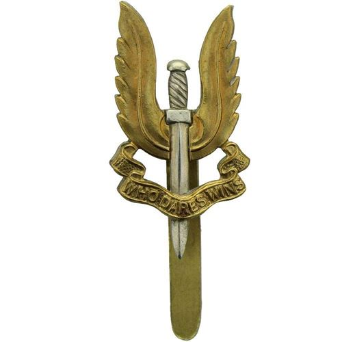 Original Special Air Service SAS Regiment Cap Badge - UZ98 ...