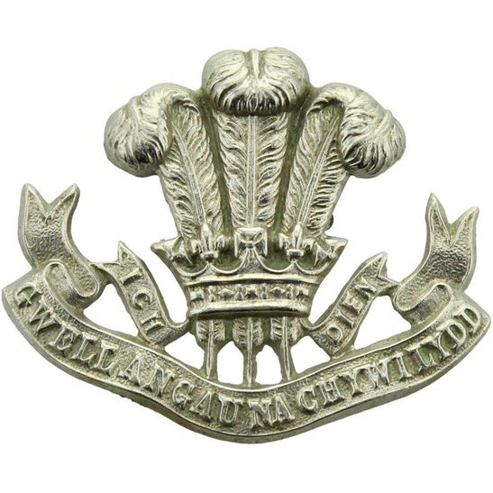 Welsh Regiment The Welsh Regiment (Welch) Collar Badge