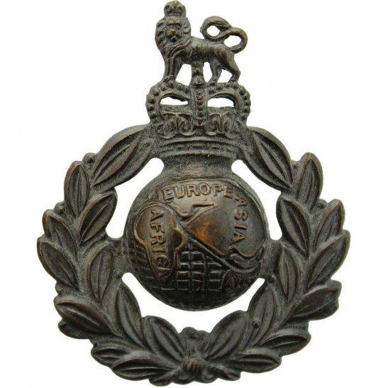 Royal Marines Royal Marines Corps Commandos Cap Badge - Queens Crown