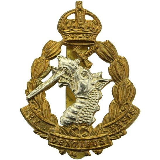 Army Dental Corps WW2 Royal Army Dental Corps RADC Dentist Cap Badge