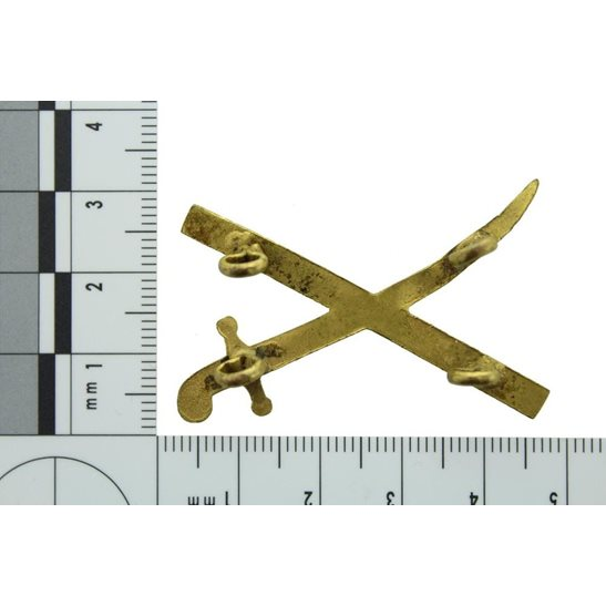 additional image for WW2 British Army General's Crossed Sword & Baton Insignia Rank Pip