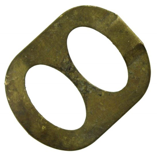 Original Issue WW1 Cap Badge Slider Retaining Backing Clip Fixing