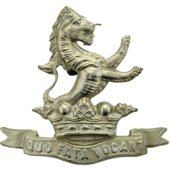 7th Dragoon Guards 7th Dragoon Guards Regiment Collar Badge