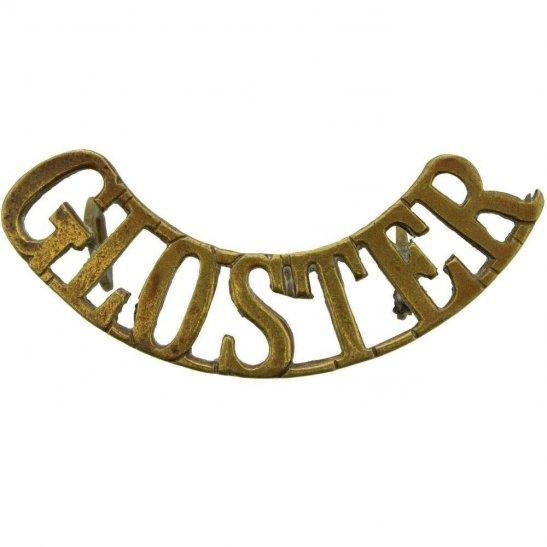 Gloucestershire Regiment Gloucestershire Regiment (Gloster) Shoulder Title