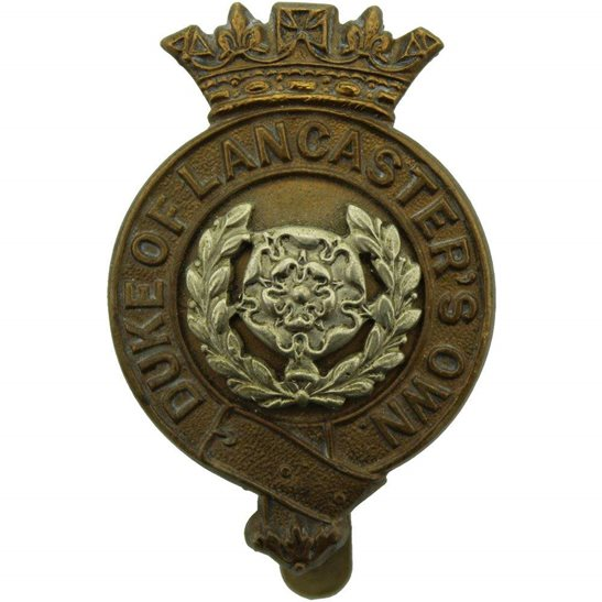 Duke of Lancasters Own Yeomanry Duke of Lancasters Own Yeomanry Regiment (Lancaster's) Cap Badge - J.R. GAUNT