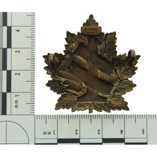 additional image for WW1 Canadian 1st Battalion (British Columbia) Canada CEF Cap Badge