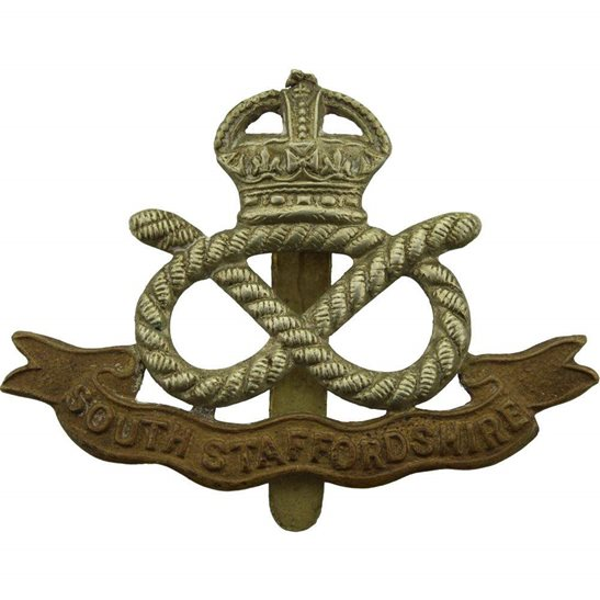 South Staffordshire South Staffordshire Regiment Cap Badge
