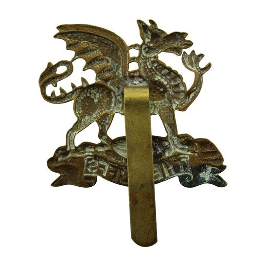 additional image for WW1 Royal East Kent (The Buffs) Regiment Cap Badge