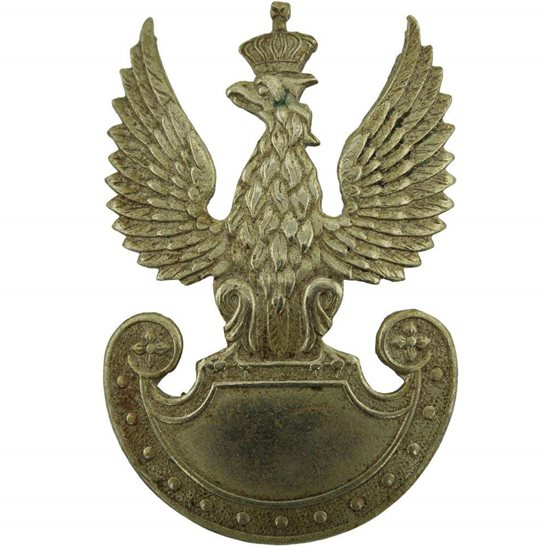 Free Polish Army WW2 Free Polish Forces (Army In Exile) Cap Badge
