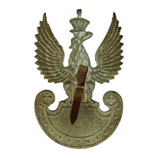 additional image for WW2 Free Polish Forces (Army In Exile) Cap Badge