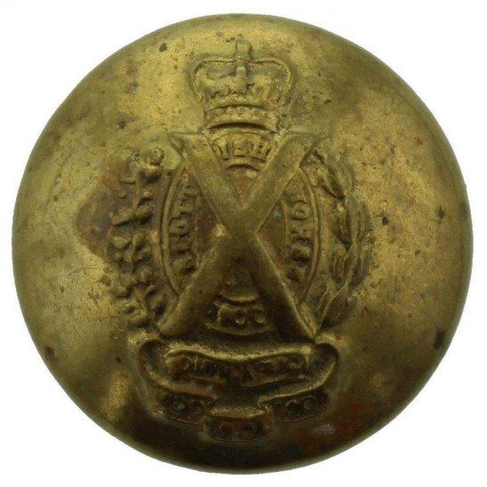 Scottish Horse WW1 Scottish Horse Regiment SMALL Tunic Button - 17mm