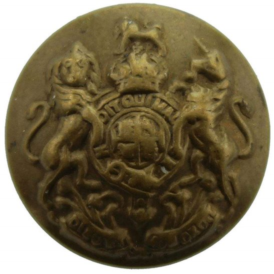 General Service General Service Corps Regiment SMALL Tunic Button - 17mm