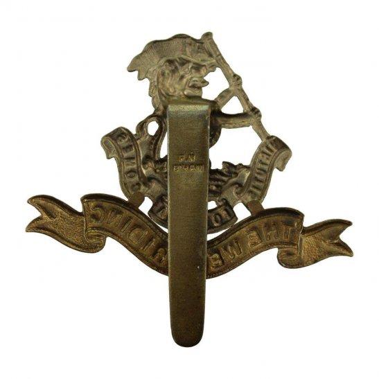 additional image for Duke of Wellingtons West Riding Regiment Cap Badge - F.N. B'HAM Makers Mark