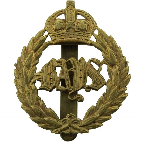 2nd Dragoon Guards 2nd Dragoon Guards (Queens Bays) Regiment Cap Badge