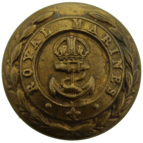 Royal Marines Royal Marines Corps Regiment Tunic Button - 24mm
