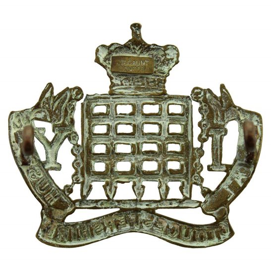 additional image for Royal Gloucestershire Hussars Imperial Yeomanry Regiment Cap Badge - GAUNT LONDON