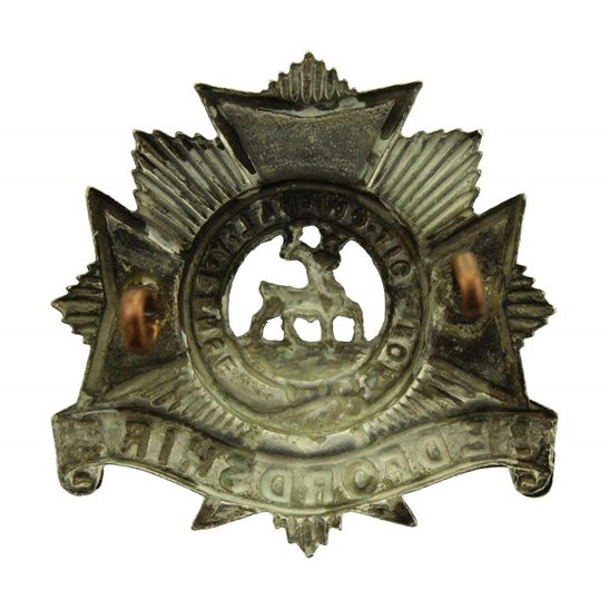 additional image for Bedfordshire Regiment Cap Badge - EARLY LUGS VERSION