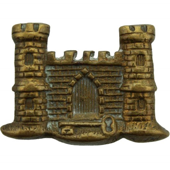 Suffolk Regiment The Suffolk Regiment Collar Badge