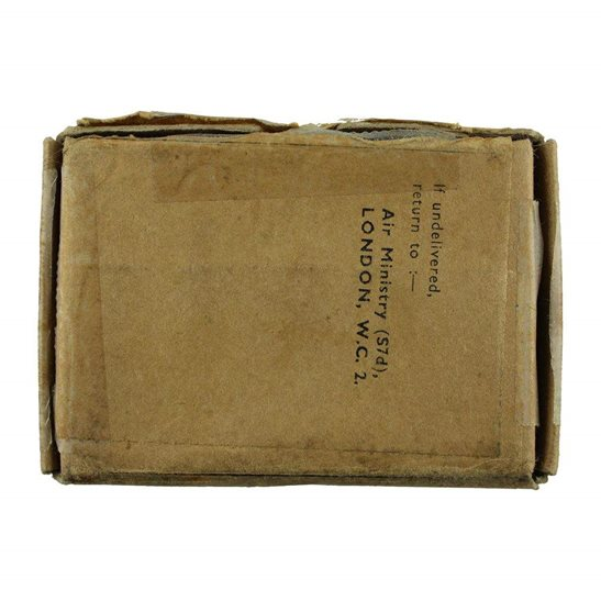 additional image for WW2 AIR MINISTRY Medal Postage Transmittal Box - Royal Air Force