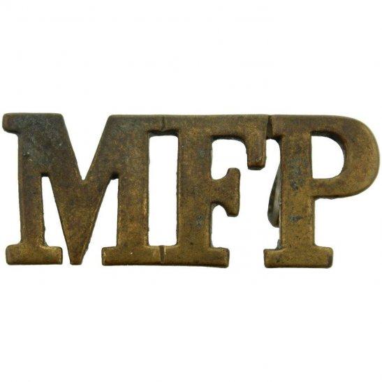 Military Foot Police MFP Military Foot Police MFP Shoulder Title
