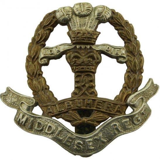 Middlesex Regiment Middlesex Regiment Cap Badge - BUTTONS LTD BIRMINGHAM