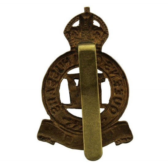 additional image for WW1 4th Queens Own Hussars Regiment Queen's Cap Badge