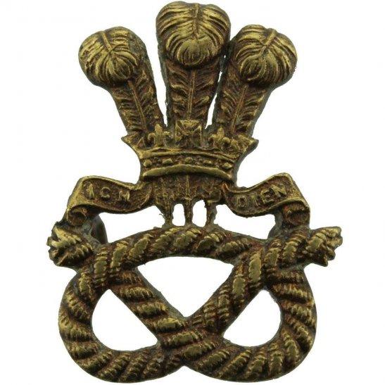 North Staffordshire North Staffordshire Regiment OFFICERS Bronze Collar Badge
