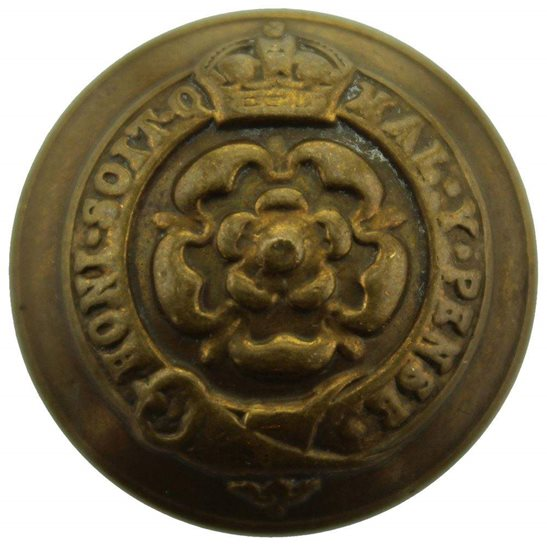 Royal London Fusiliers WW1 Royal London Fusiliers Regiment Tunic Button - 26mm