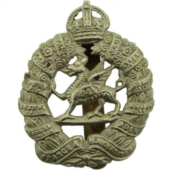 Monmouthshire Regiment WW2 1st Monmouthshire Regiment Cap Badge