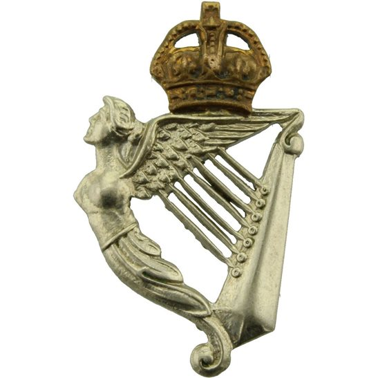 8th Hussars 8th Kings Royal Irish Hussars Regiment Collar Badge