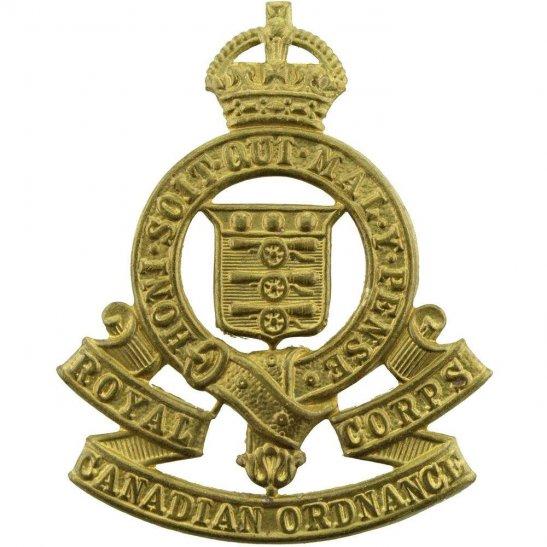 WW2 Canadian Army WW2 Royal Canadian Ordnance Corps RCOC Canada Army CEF Cap Badge
