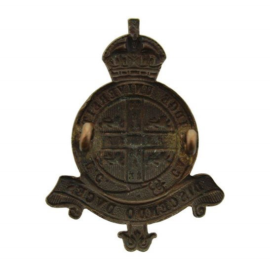 additional image for Cambridge University Officers Training Corps College OTC Cap Badge