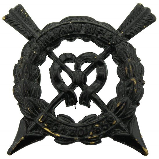 Officer Training Corps OTC Harrow Rifles Officers Training Corps School College OTC Cap Badge