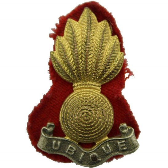 Royal Artillery Royal Artillery Regiment OFFICERS Gilt Collar Badge